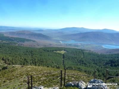 Hoyos glaciares El Nevero, Peña el Cuervo; fotos de senderismo;floracion jerte